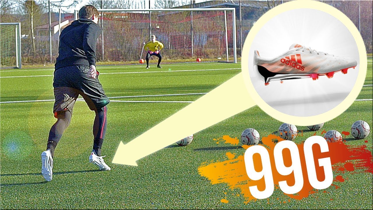 ad0abe9ed343 99g adidas Football Boots Test & Review by freekickerz - YouTube