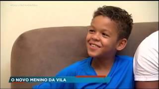 Conheça Davi, o novo destaque dos meninos da Vila Belmiro