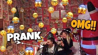 PRANK 😲 Ich tapeziere das komplette Zimmer meiner Schwester mit ... 🤣 | BibisBeautyPalace