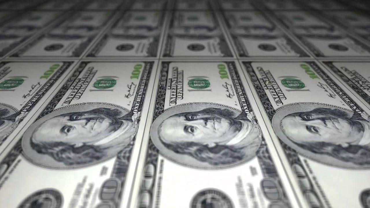 Free Stock Video Download - Printing Dollar Bills - 100 US Dollar Bills
