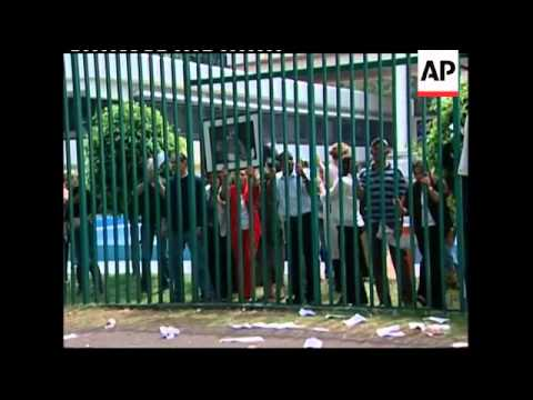 Protests outside Cuban embassy over death of dissident