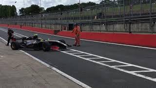 An few old F1 cars