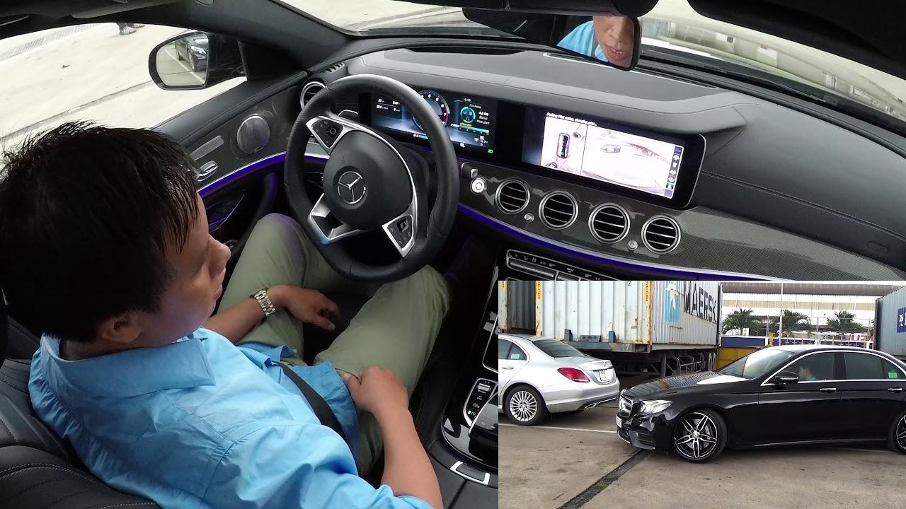 Trình diễn tính năng tự động đỗ hoàn toàn trên Mercedes-Benz E300 AMG 2017 | Tinhte.vn