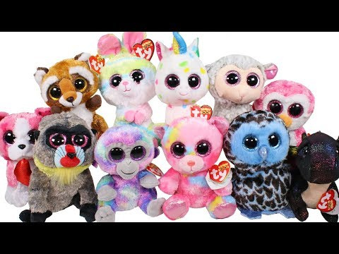 eb301bc93a2 Opening Beanie Boos Speckles   Carrots (224   225) + New Teenie Beanie Boos  + Retirements