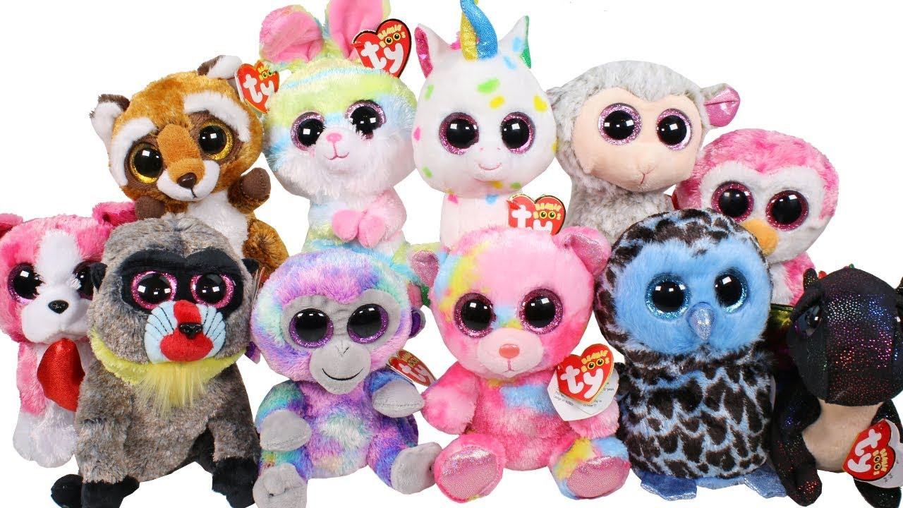BRAND NEW 2018 Beanie Boos Haul Unboxing Toy Review TY Beanie Boo ... 8a796a10946