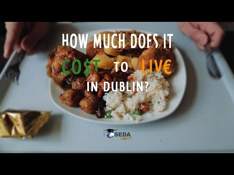 How much does it cost to live in Dublin?