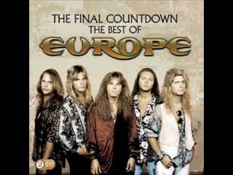 The final countdown-Europe