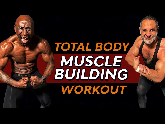 Killer Full  Body Home Muscle Building Workout