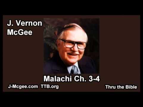 39 Malachi 03-04 - J Vernon McGee - Thru the Bible