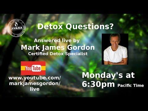 Mark Gordon Live Natural Health Q&A: Kidney Filtration in 2 Days, Atikns Diet Damage, Detox Diets