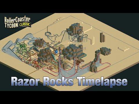 Roller Coaster Tycoon Classic Razor Rocks Timelapse |