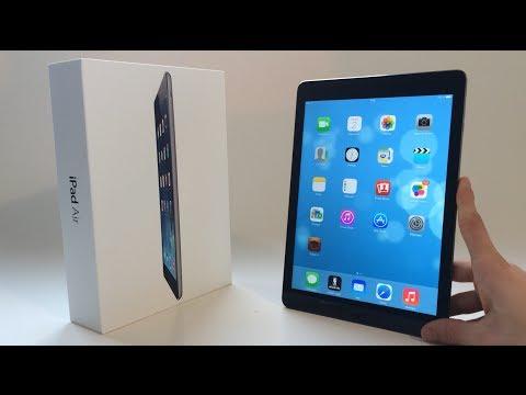 Apple iPad Air : Déballage et présentation du design - Unboxing en français