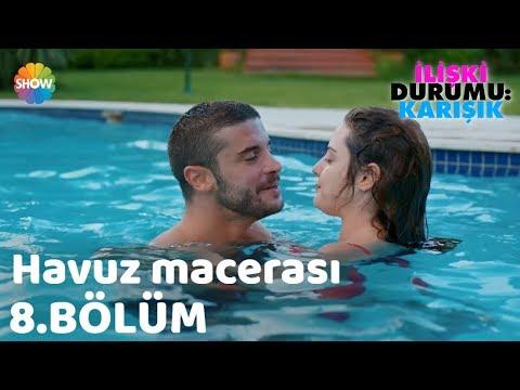 """Download Ayşegül ve Can'ın Havuz Macerası """"İlişki Durumu: Karışık 8.Bölüm"""""""