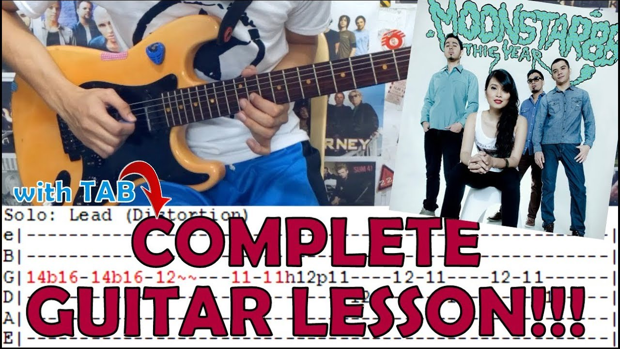 Sulat Moonstar88complete Guitar Lessoncoverwith Chords And Tab