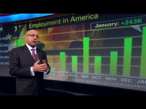 Surprise gains in U.S. jobs market