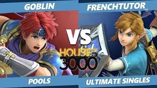 Smash Ultimate Tournament - Goblin (Roy) Vs. frenchtutor_ (Link) SSBU Xeno 195 Pools