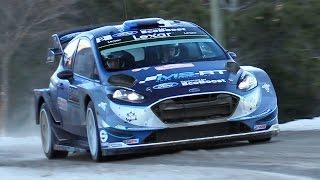 WRC Montecarlo 2017: Wednesday Shakedown - Yaris WRC, C3 WRC, 997 R-GT & More!!