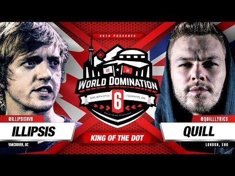KOTD - Rap Battle - Illipsis vs Quill | #WD6ix