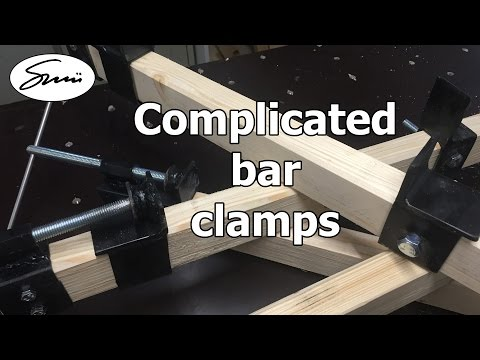 DIY: Complicated bar clamps / long clamps