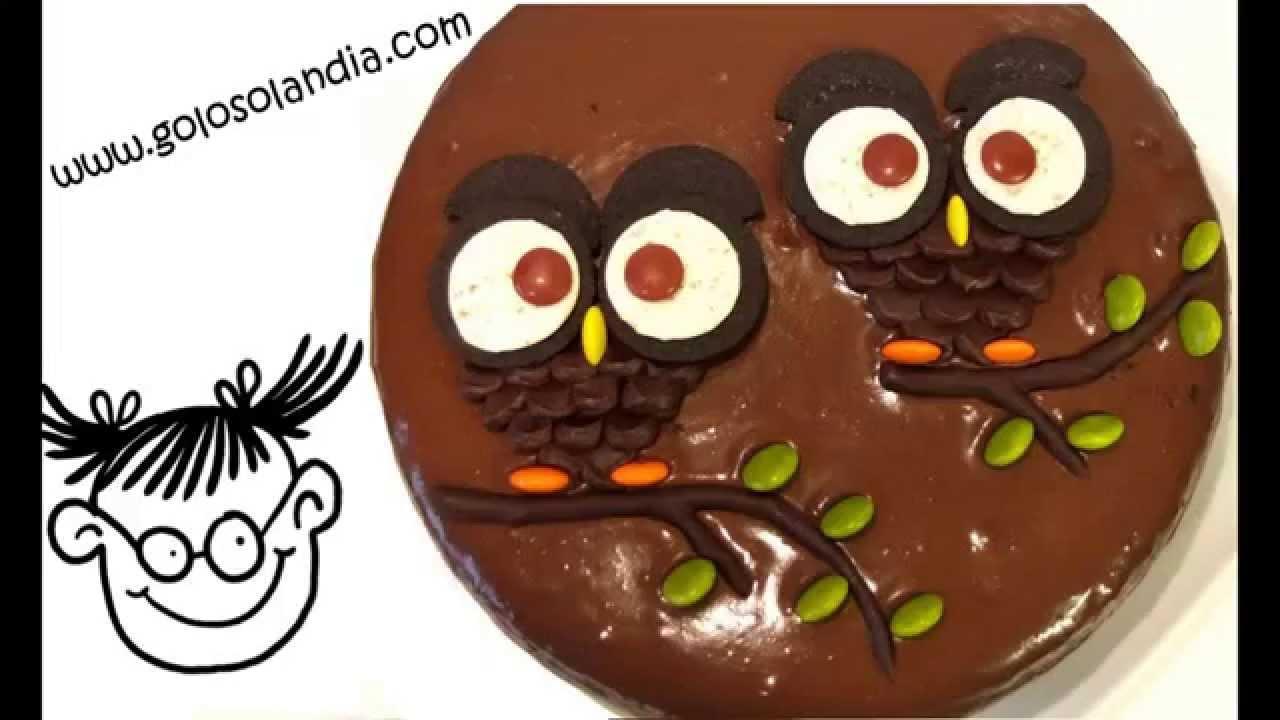 Búhos De Chocolate En 1 Minuto Decora Tartas Facil