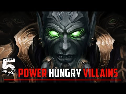 Top 5 Most Power Hungry Characters in World of Warcraft