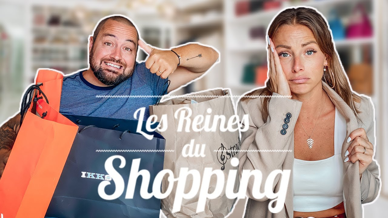 LES REINES DU SHOPPING EN COUPLE !! (Cristina cordula en pls)