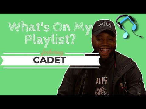 Cadet Talks Michael Jackson, Usher And Guilty Pleasure  What's On My Playlist  Cadet