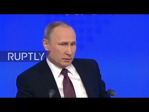 LIVE: Putin to hold annual press conference in Moscow - Orig