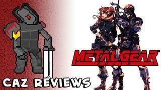 Metal Gear Solid (GBC) Review (Metal Gear:  Ghost Babel) - Caz