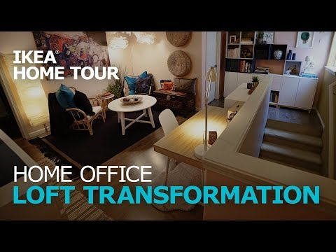 Home Office Ideas for a Loft Conversion - IKEA Home Tour (Episode 311)