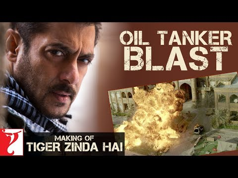 Oil Tanker Blast | Making of Tiger Zinda...