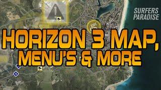 Forza Horizon 3: Map, Auction House, Storefront & Performance Index