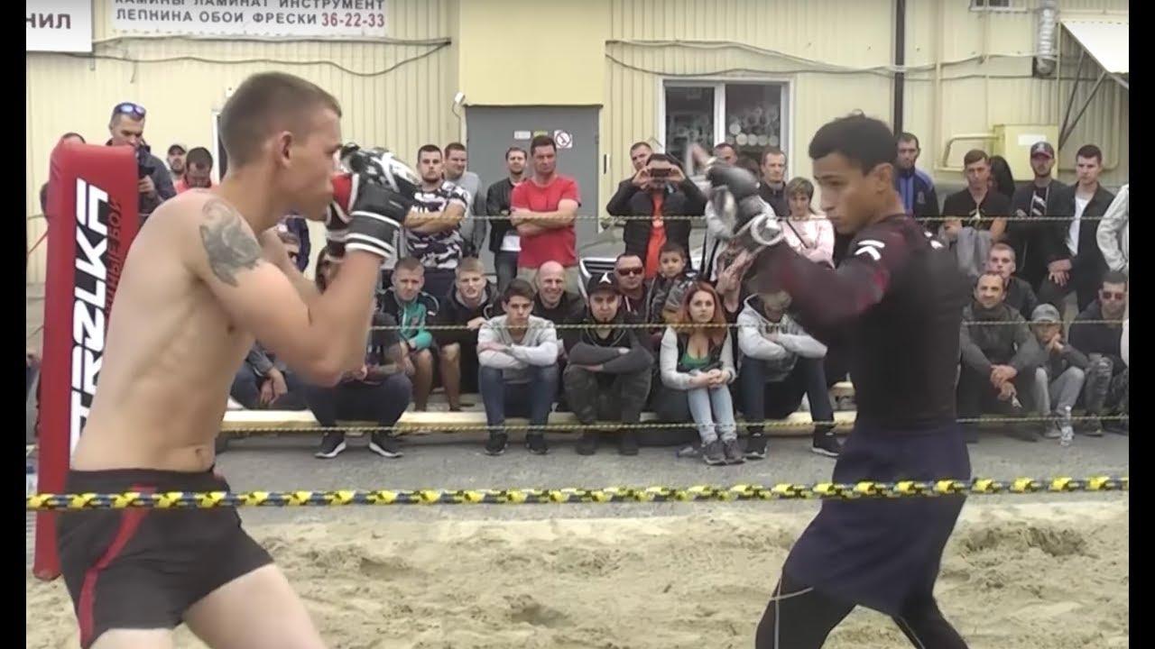 Белгородская МАШИНА против Курского Португальца!! Реванш !!!