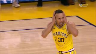 Stephen Curry Makes Fun Of His Own Dunk vs. Sacramento Kings