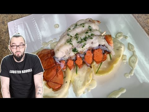 HOMEMADE LOBSTER RAVIOLI RECIPE FROM SCRATCH | SHOOTER'S KITCHEN