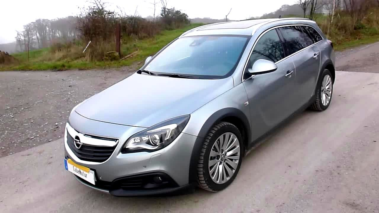 2014 opel insignia country tourer 2 0 cdti exterieur in detail youtube. Black Bedroom Furniture Sets. Home Design Ideas