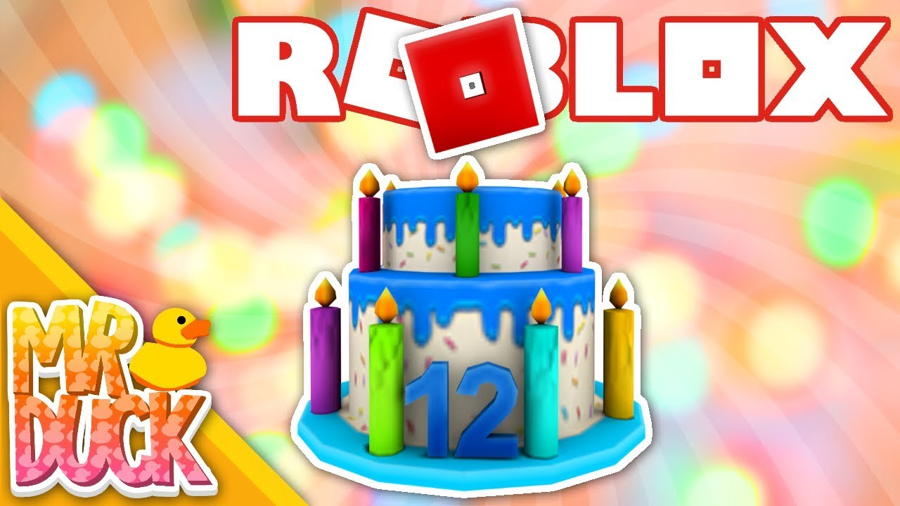 ROBLOX HOW TO GET 12TH BIRTHDAY CAKE HAT