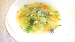 Куриный суп с домашней лапшой! Домашняя лапша с курицей./ EASY CHICKEN SOUP WITH HOMEMADE NOODLES