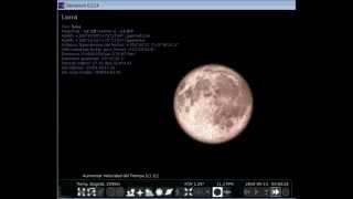 Simulacion Eclipse Total de Luna 15 04 2014 avi