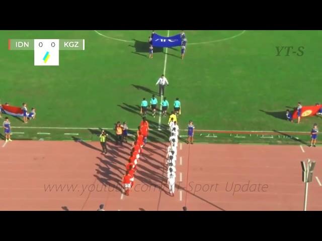 Indonesia U-16 vs Kyrgyzstan U-16 [3] [0] • AFC WOMEN 2018