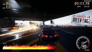 Dangerous Driving PC - Final Events in Sedan Class [4K 60FPS]