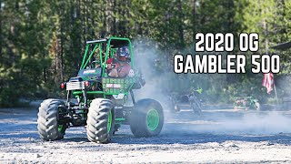 Ripping a Mini Grave Digger and Mini Bike Riding at the Gambler 500!