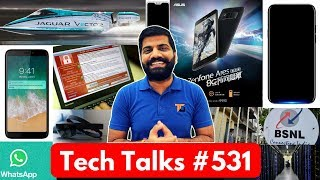 Tech Talks #531 - Redmi 6 Pro, HoloLens 2, Electric Boat, BSNL Free 2GB, Note 9