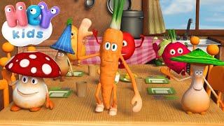 В День Рождения Морковки - Учим овощи - Детские песни
