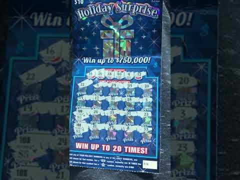 Nice winner! $10 Georgia Lottery