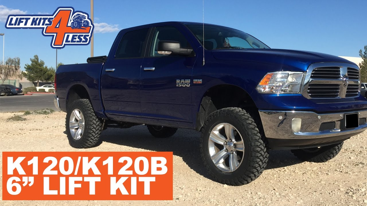4 Inch Lift Kit For Dodge Ram 1500 4wd >> Super Lift K120b 6 Lift Kit For 2012 Current Model Dodge Ram 1500