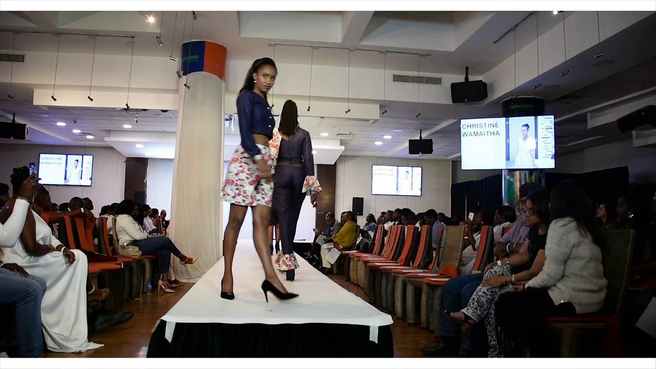 Marion Jacklin Walks For Mcensal School Of Design Fashion Show Youtube