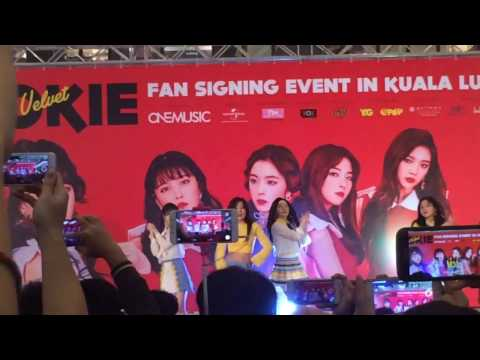 [HD FANCAM] 220417 Red Velvet - Rookie (Fansign Event @ Berjaya Times Square, Malaysia)