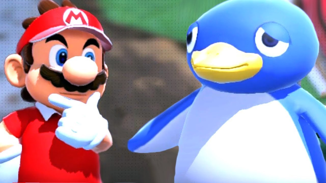 Super Mario Reunites With His Old Friends - Mario Tennis Aces Part 4 + Boss & Mini Games