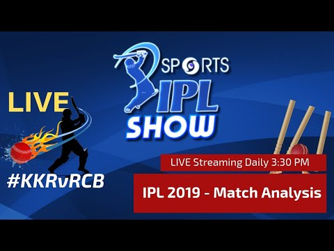 #IPL2019 Match Day 28 | Royal Challengers vs Knight Riders  | #RCBvKKR | IPL Show